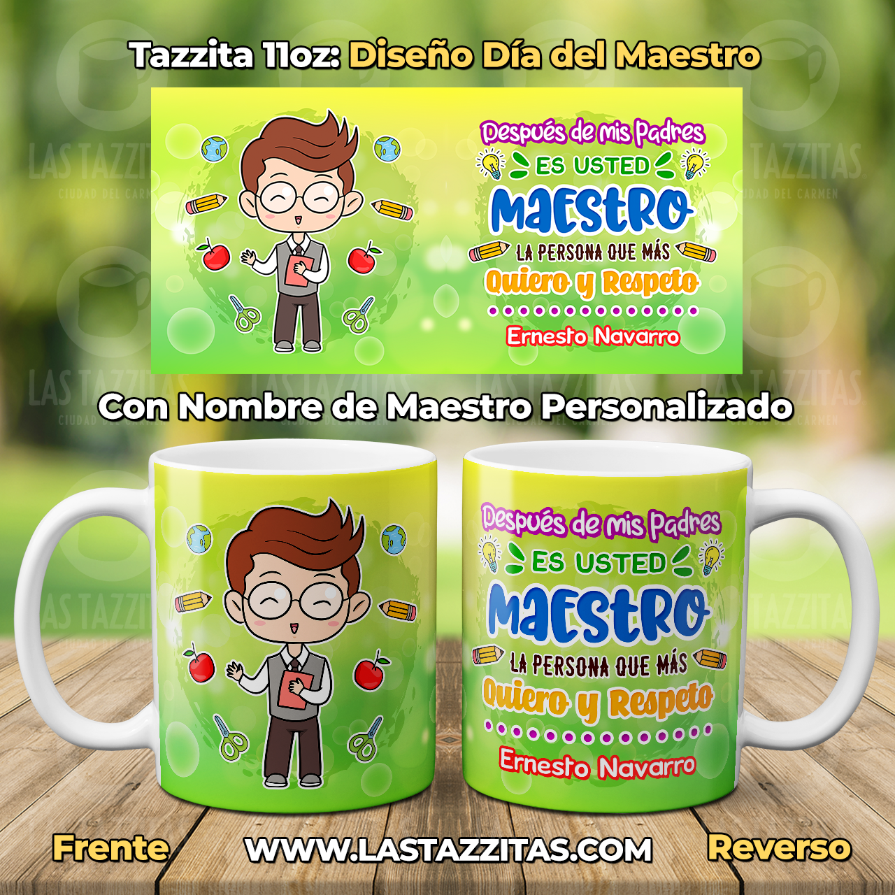 Es usted Maestro - Las Tazzitas