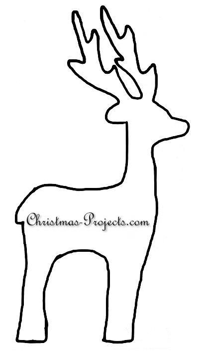 Reindeer Template | Billie | Pinterest | Template, Wooden reindeer ...