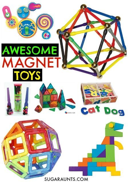 Magnet Activities and Toys for Kids | Preschool toys ...