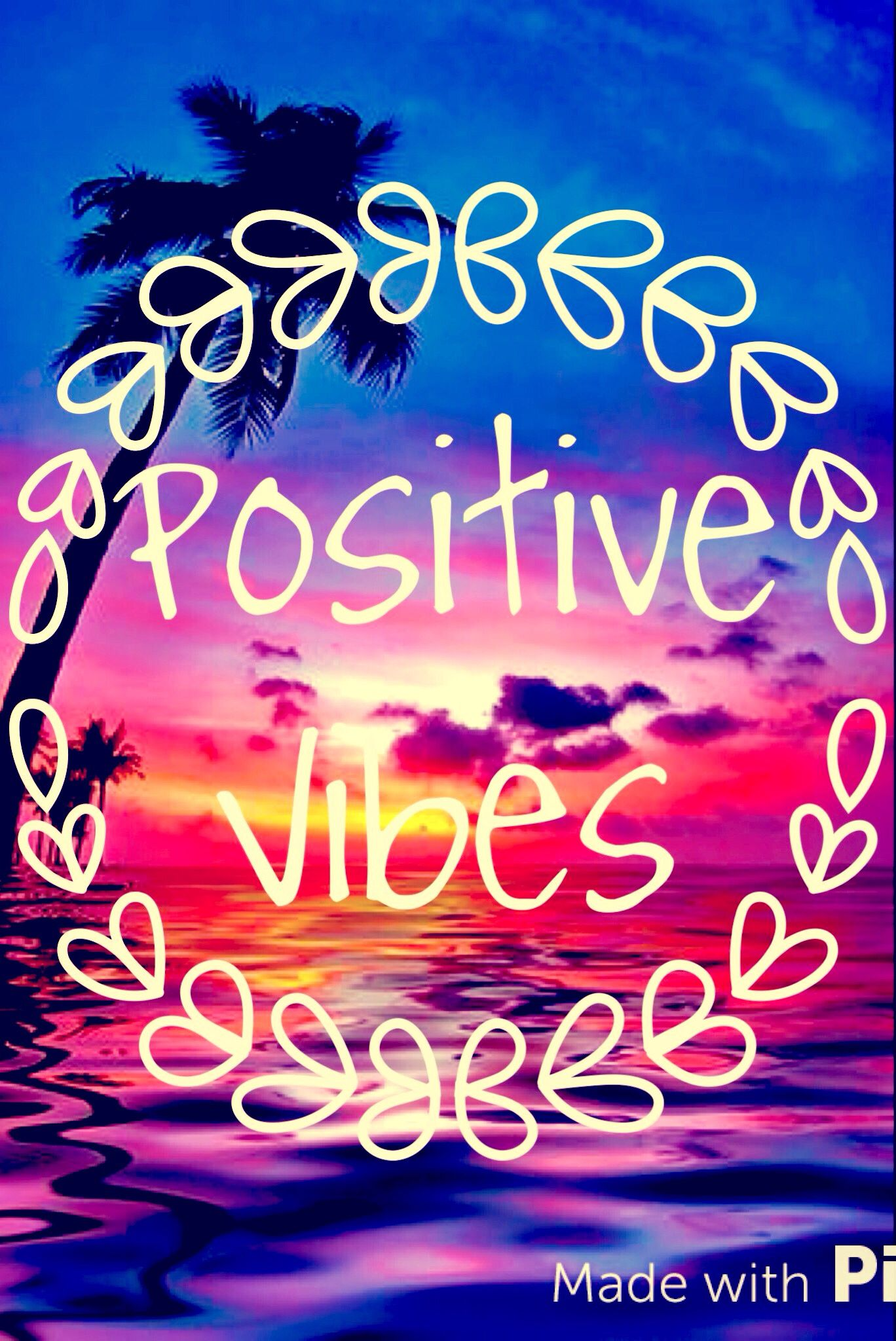 Positive vibes....