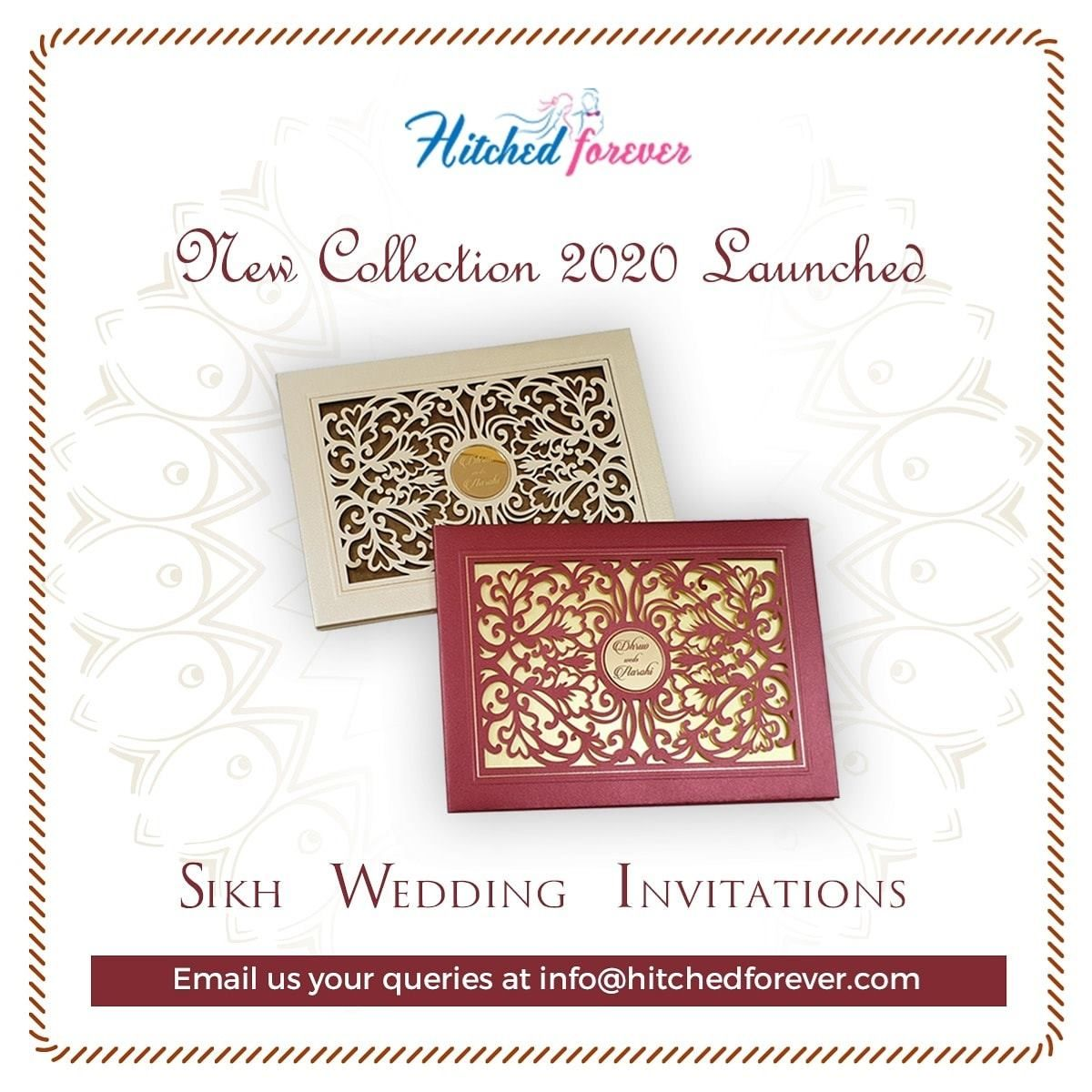 Pin on Sikh Wedding Cards