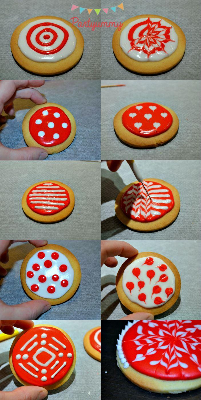Biscuits De Noel Decores Avec Du Glacage Royal Techniques Et