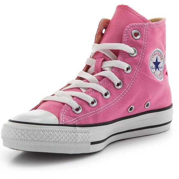 hot sale online d0083 9d856 Converse Chuck Taylor All Star Canvas Hi-Top Plimsolls ( 74) ❤ liked on  Polyvore featuring shoes, sneakers, summer sneakers, high top shoes,  converse shoes ...