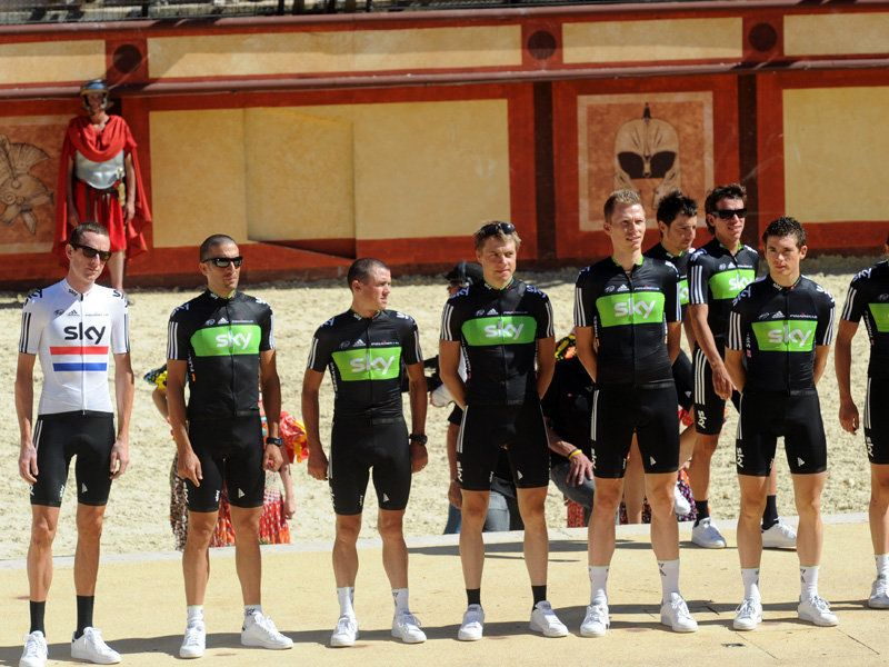 Team Sky | Pro Cycling | Photo Gallery | Tour presentation gallery