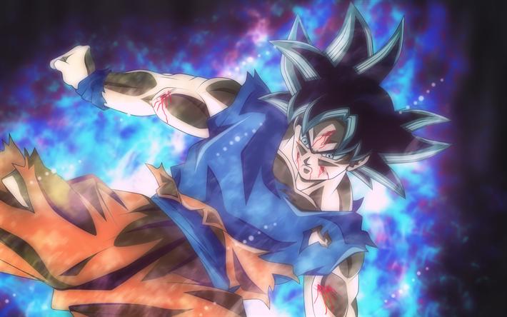 Download Wallpapers Son Goku 4k Art Dragon Ball Z Black Hair
