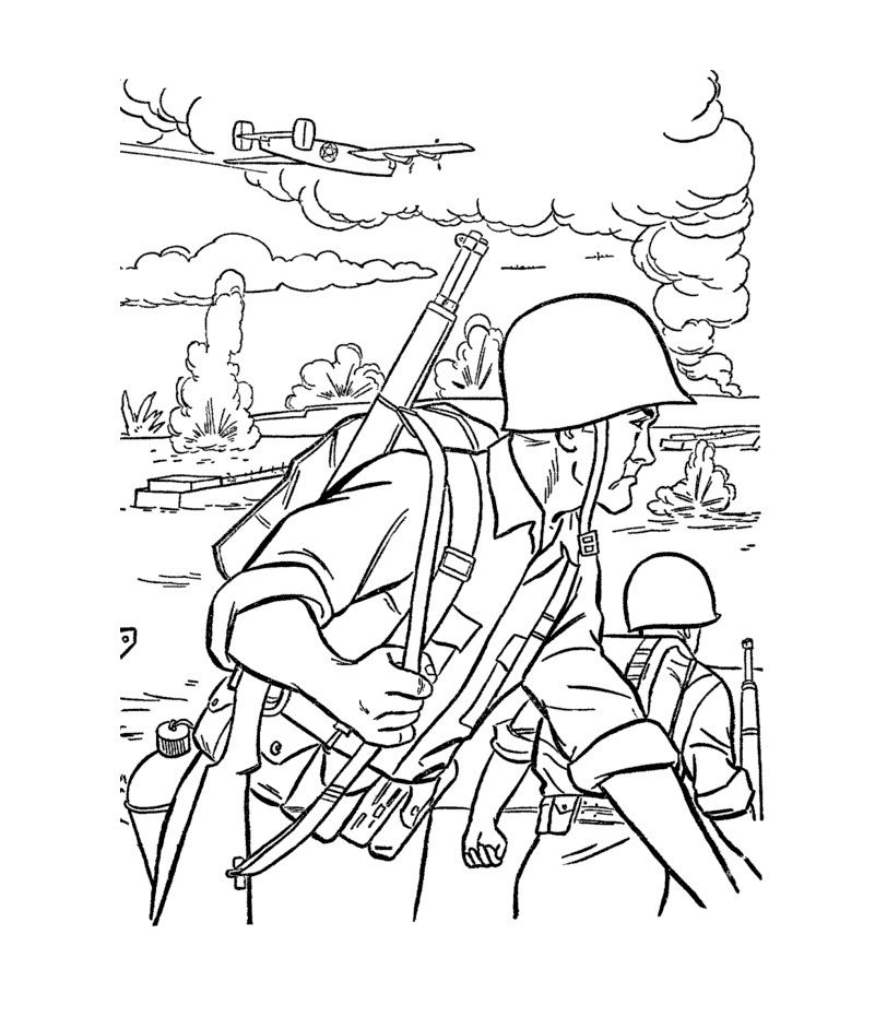 free printable army coloring pages for kids arts and crafts veterans day coloring page army. Black Bedroom Furniture Sets. Home Design Ideas