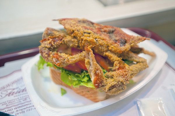 Soft Shell Crabs Baltimore Food Soft Shell Crab Crab Sandwich