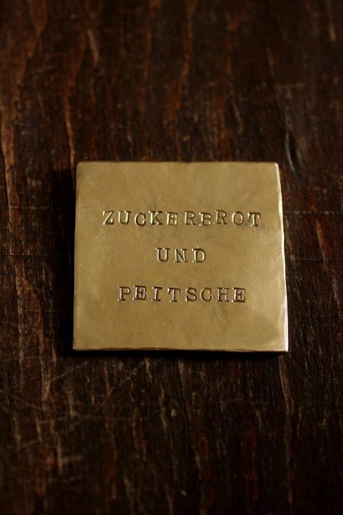 Brass Plate 2 真鍮 表札 ネームプレート ドアプレート ブック