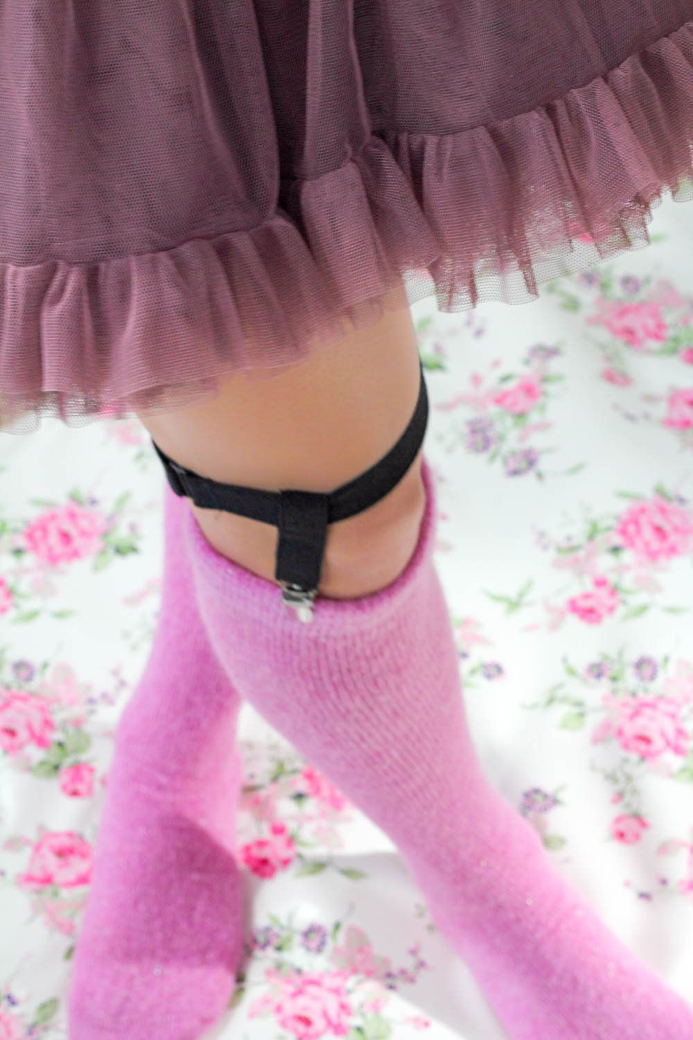 0f0ba6229 Pink Glitter Knee Socks - Soft Pink Bed Socks - Sparkly Slouch Socks for  lounging around - Warm OOAK Mohair Knee Socks - Pink Boot Socks