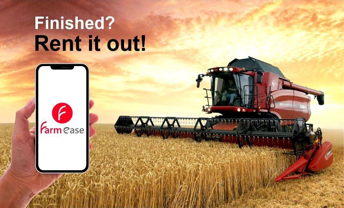 Farmease is a farm equipment rental marketplace. We deals