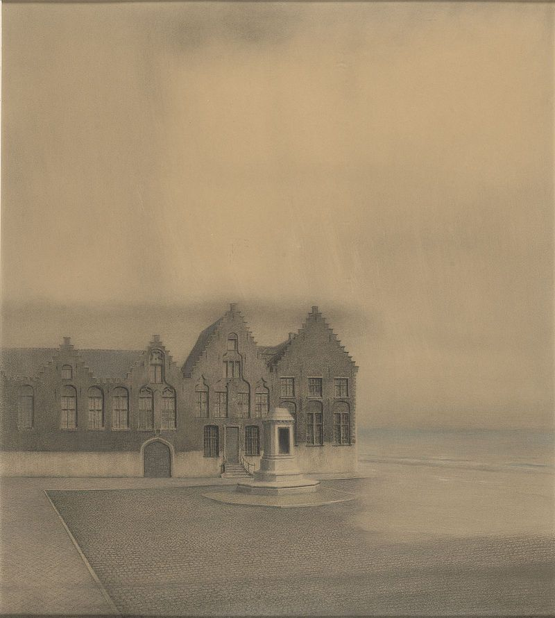 The Abandoned City ~ Fernand Khnopff