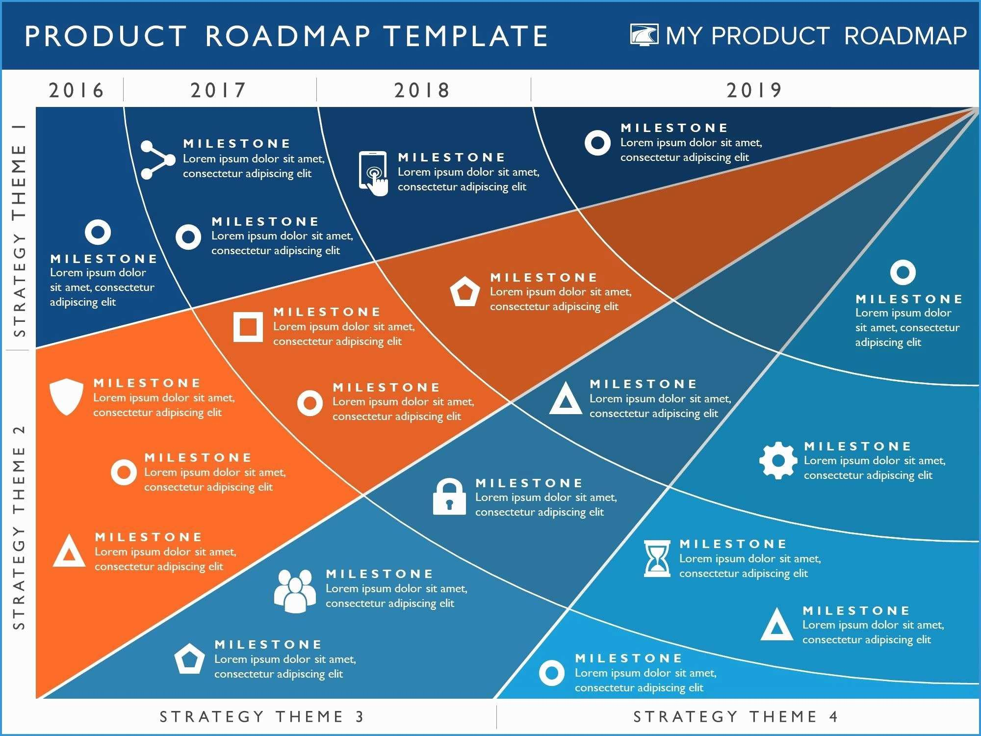 Strategy Roadmap Template Ppt from i.pinimg.com