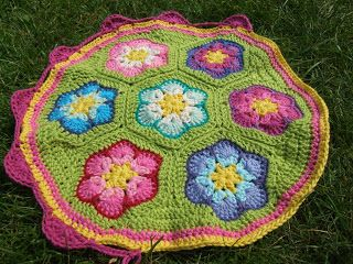 flores africanas forma circular