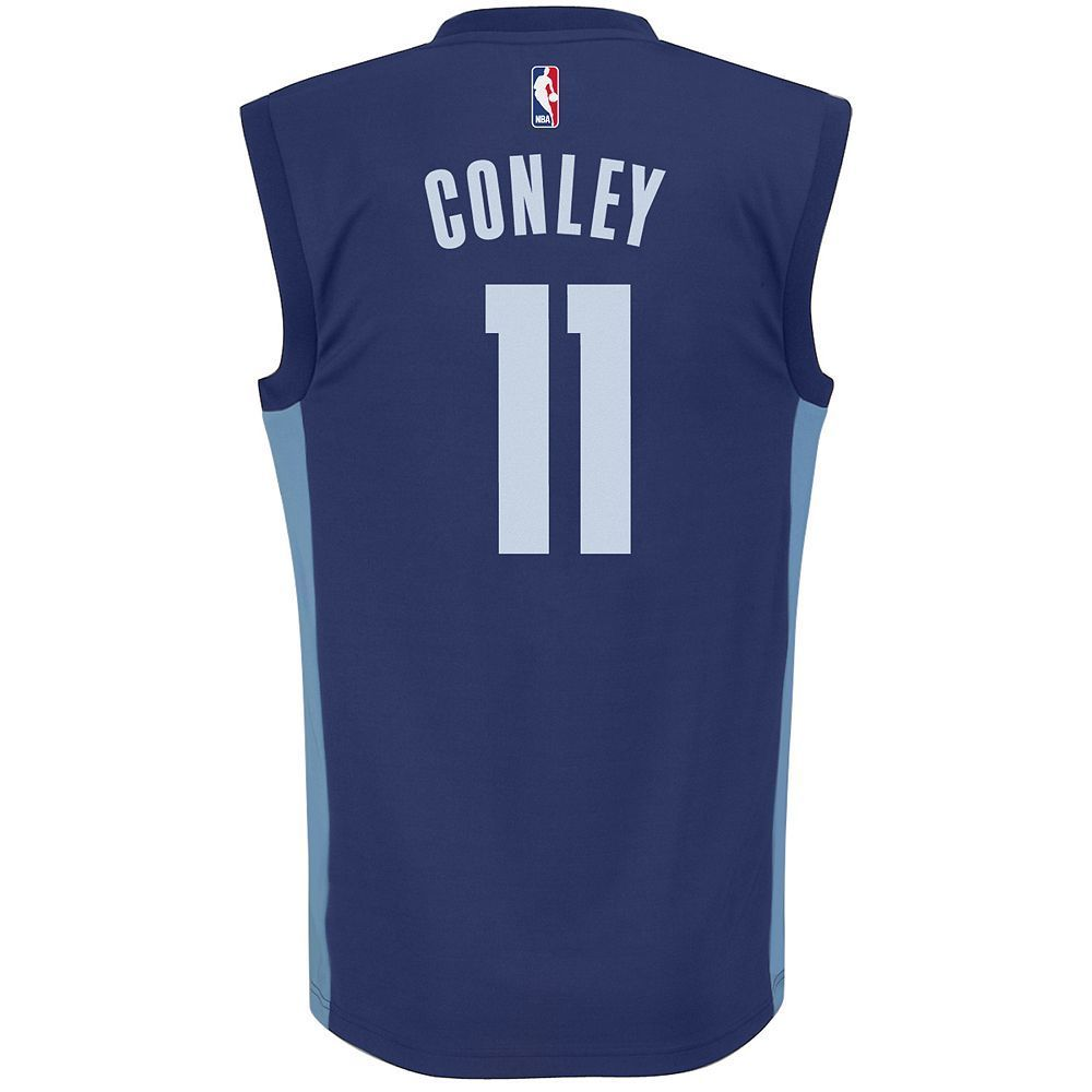 4e8a3a884 Adidas Men's Memphis Grizzlies Mike Conley Jr. Replica Jersey, Size:  Medium, Blue (Navy)