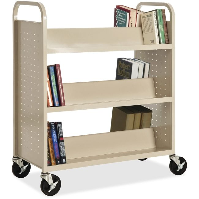 We have book carts, just one of many items we offer in our scratch n' dent department. We love to help our customers save money!