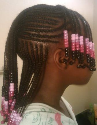 Tremendous African American Children Hairstyles Kids Cornrow Mc African Short Hairstyles For Black Women Fulllsitofus