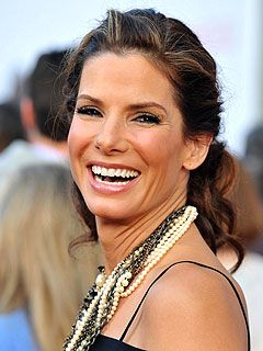 Sandra Bullock....... Love that smile.