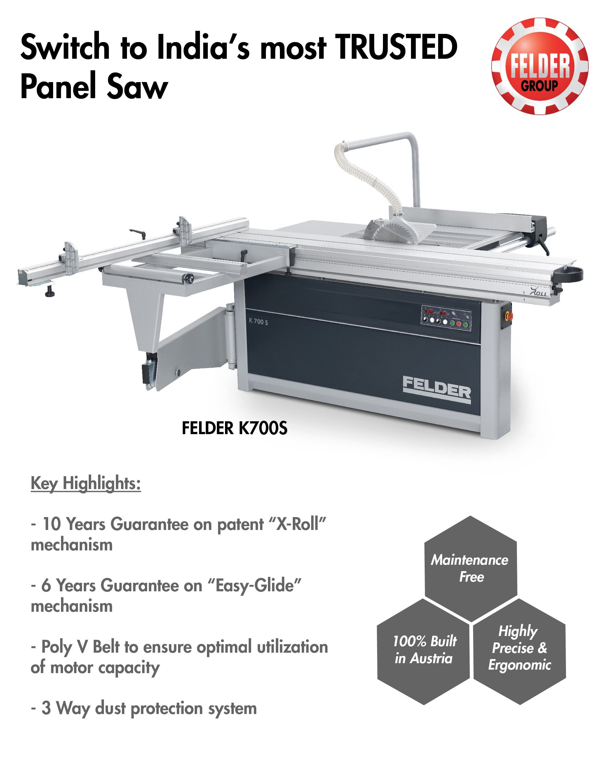 Pin by Felder Group India on Panel Saw - Wood Cutting Machines in