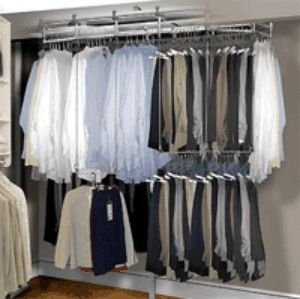 Genial I Want A Huge Rotating Closet Valet So With A Push Of The Button I Can