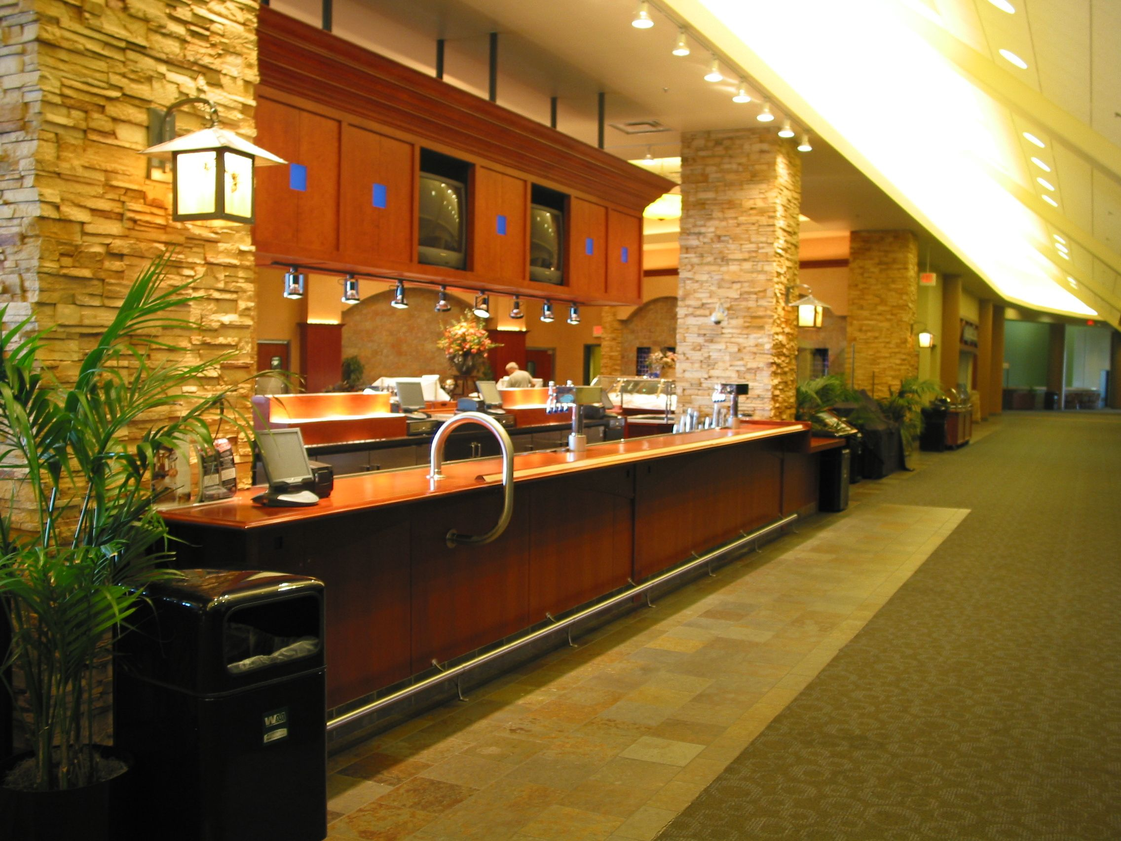 Levy Restaurants Headwaters Bar On Club Level At Xcel Energy Center