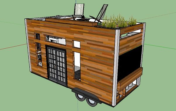 Best Tiny Home On Wheels With Roof Deck Google Search With 400 x 300