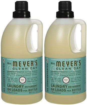 Mrs Meyer S Clean Day Laundry Detergent Basil 64 Oz 64 Loads 2