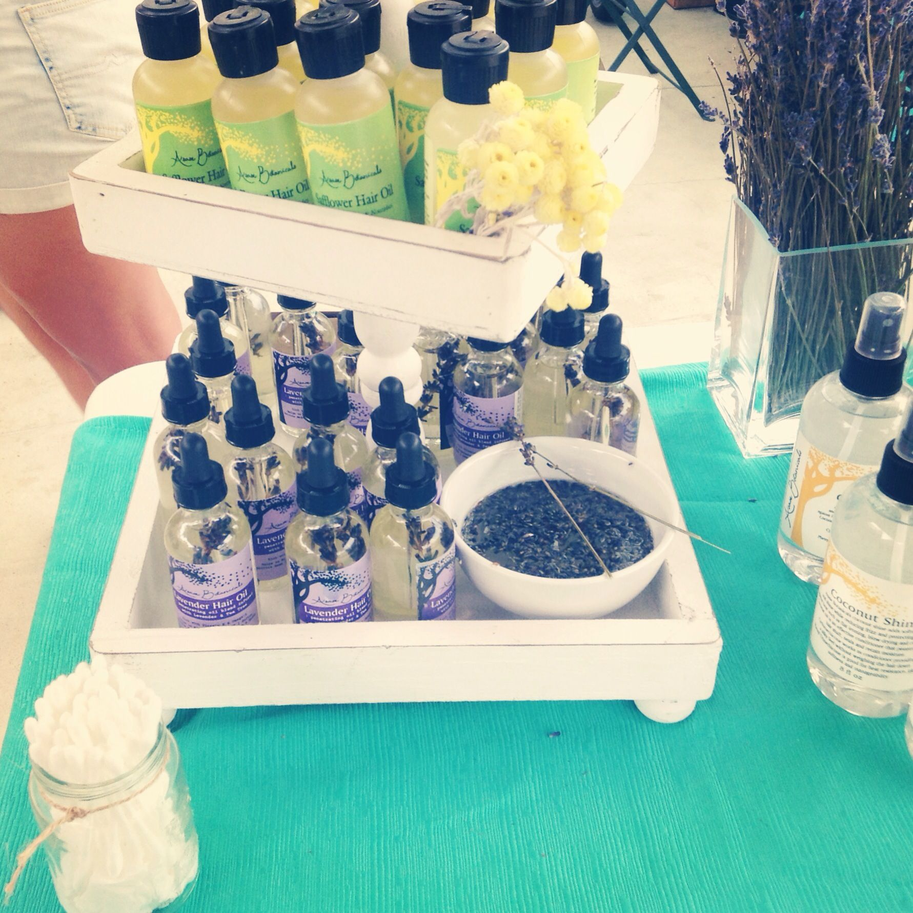 Our new lavender oil