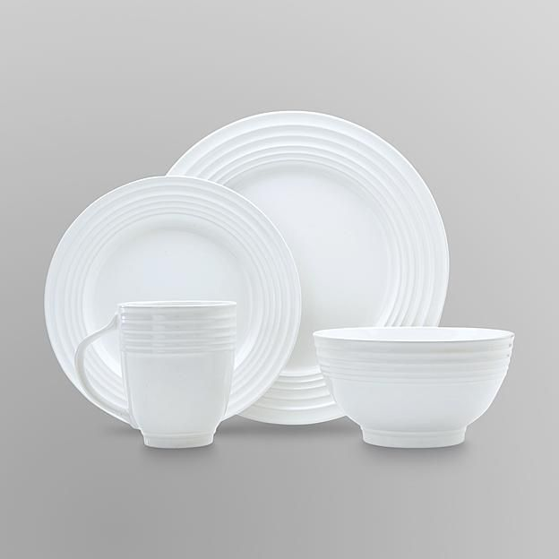 Essential Home 16-Piece Solid Color Dinnerware Set - Round & Essential Home 16-Piece Solid Color Dinnerware Set - Round ...