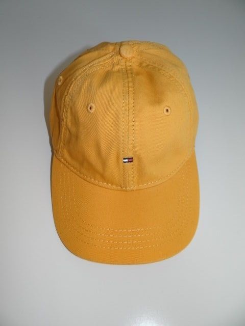 Tommy Hilfiger Men s Mustard Yellow Hat Base Ball Cap NWT FREE Shipping   TommyHilfiger  BaseballCap ab1f9e0cdca