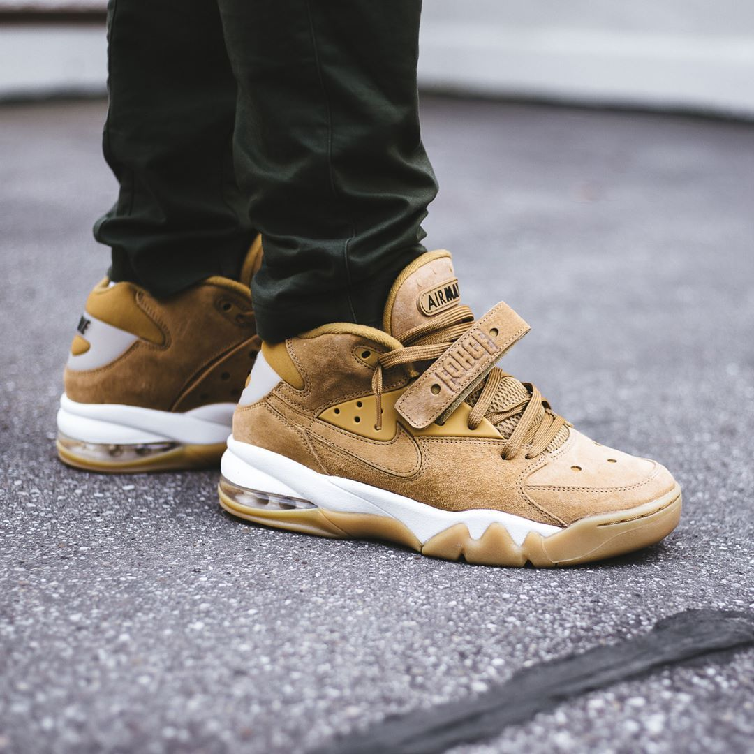 nike air force max wheat