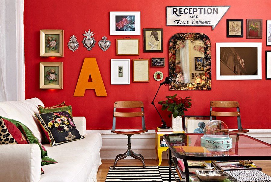 Red Living Rooms Design Ideas Decorations Photos Living Room Red Red Home Decor Red Walls