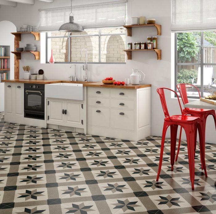 ▷ 1001 + modèles de cuisine avec carreaux de ciment | idées