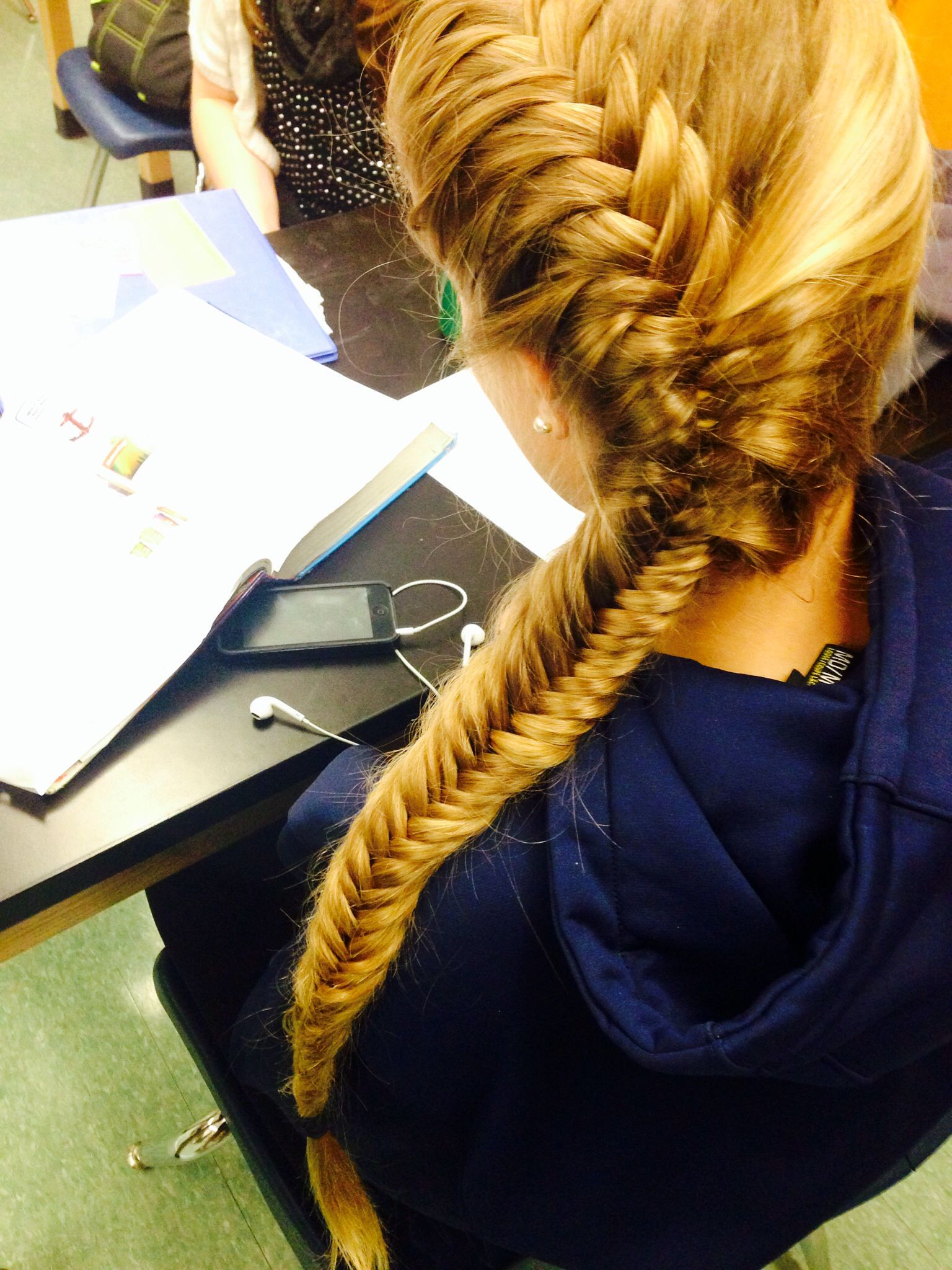 Fishtail French Braid Long Hairstyles Hair Styles