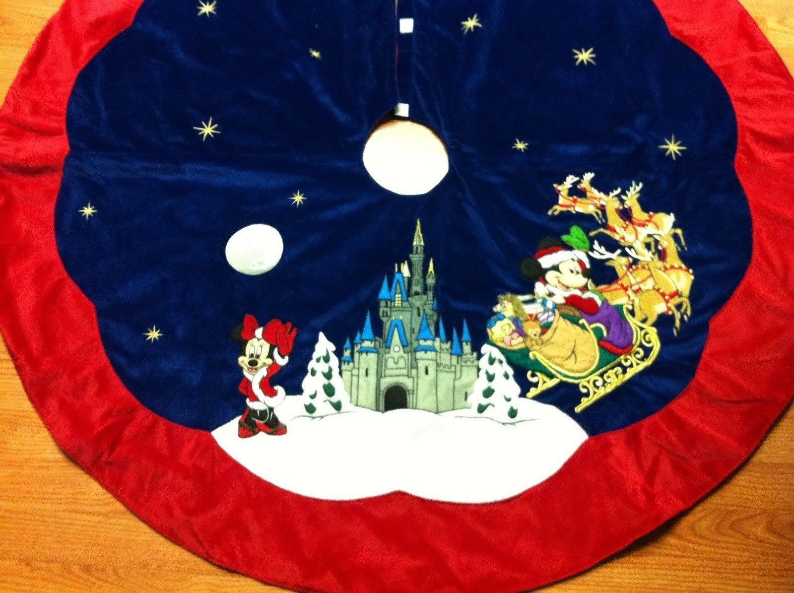 disney christmas tree skirt i know someone whod love this