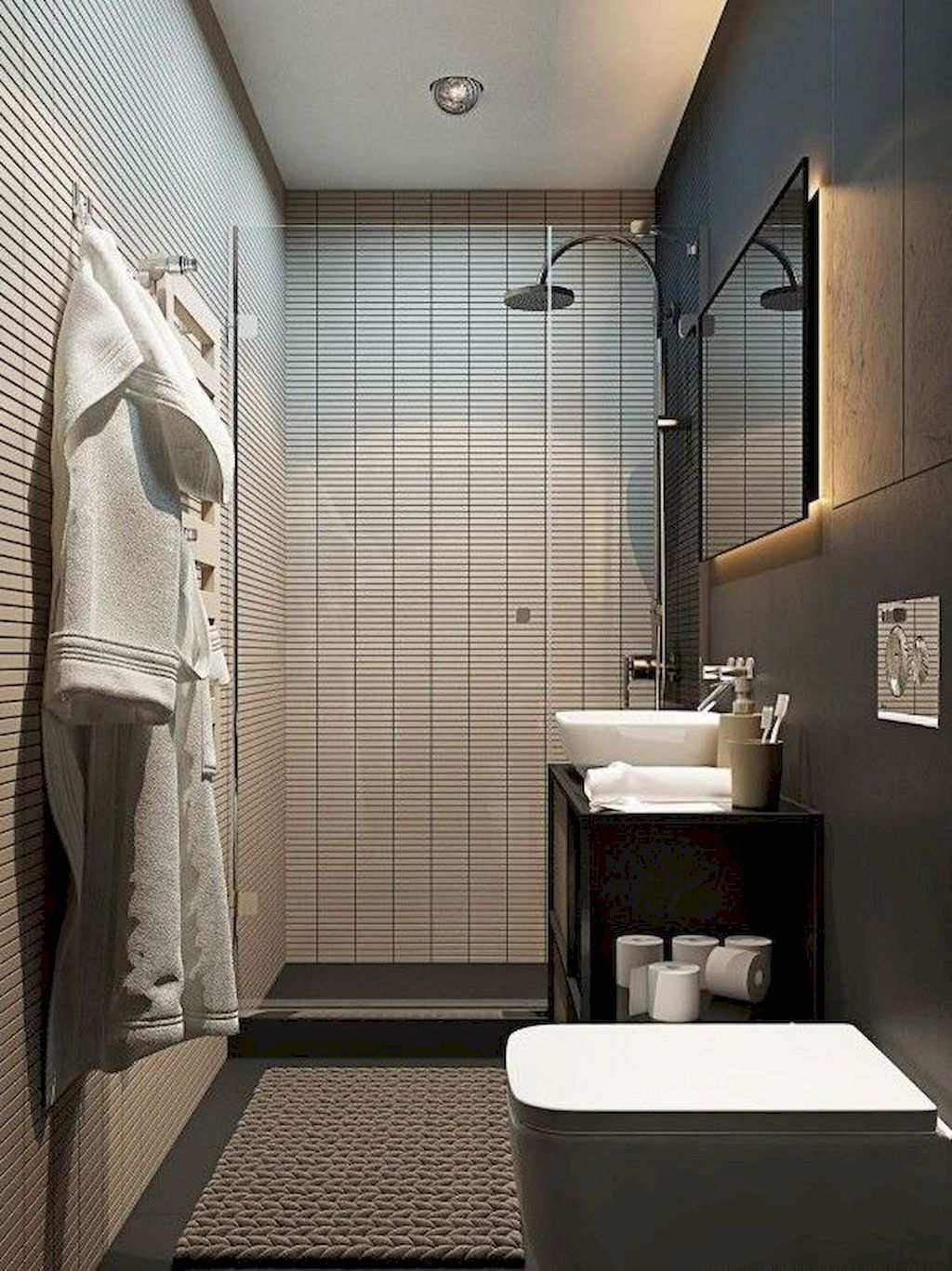 Bathroom Design For Small Apartment