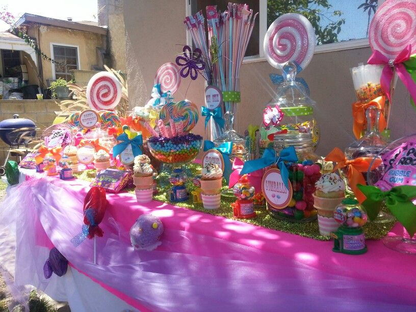 candy vixen custom candyland candy buffet www candyvixen com candy rh pinterest com candyland candy table Candyland Themed Sweet 16 Candy Buffet