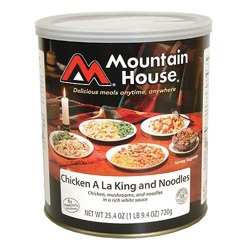 Freeze-Dried Food #10 Can - Chicken a la King - Freeze Dried Entree's - Mountain House Foods