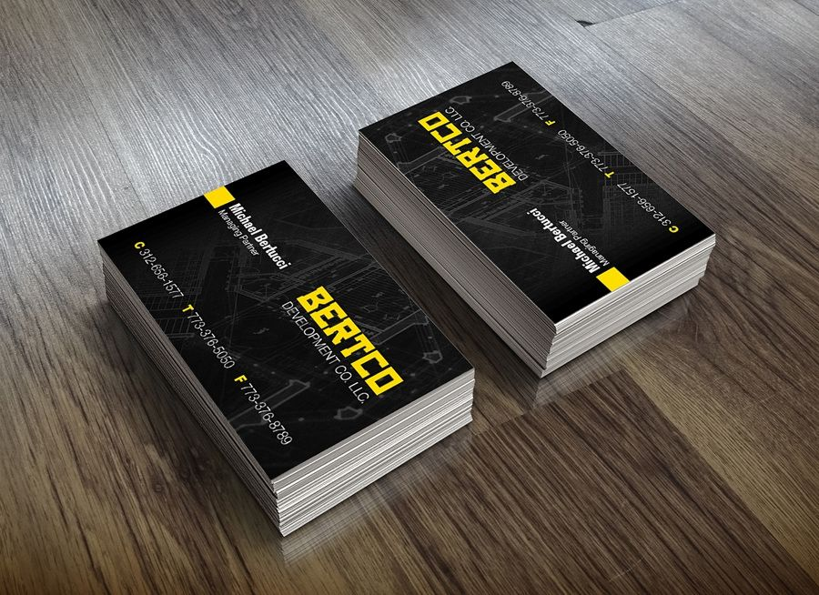 Creative Construction Business Cards | Business Card | Pinterest ...