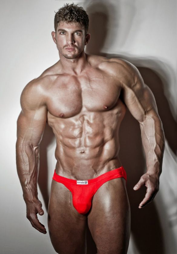 Naked muscled guys