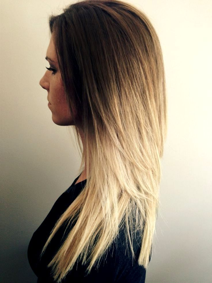 Brown Hair With Blonde Underlayer Tumblr | Hair, Make-up ...