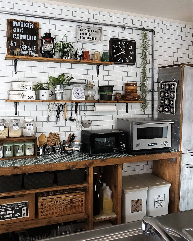 使いやすくておしゃれ♡「見せるキッチン」の作り方アイデア