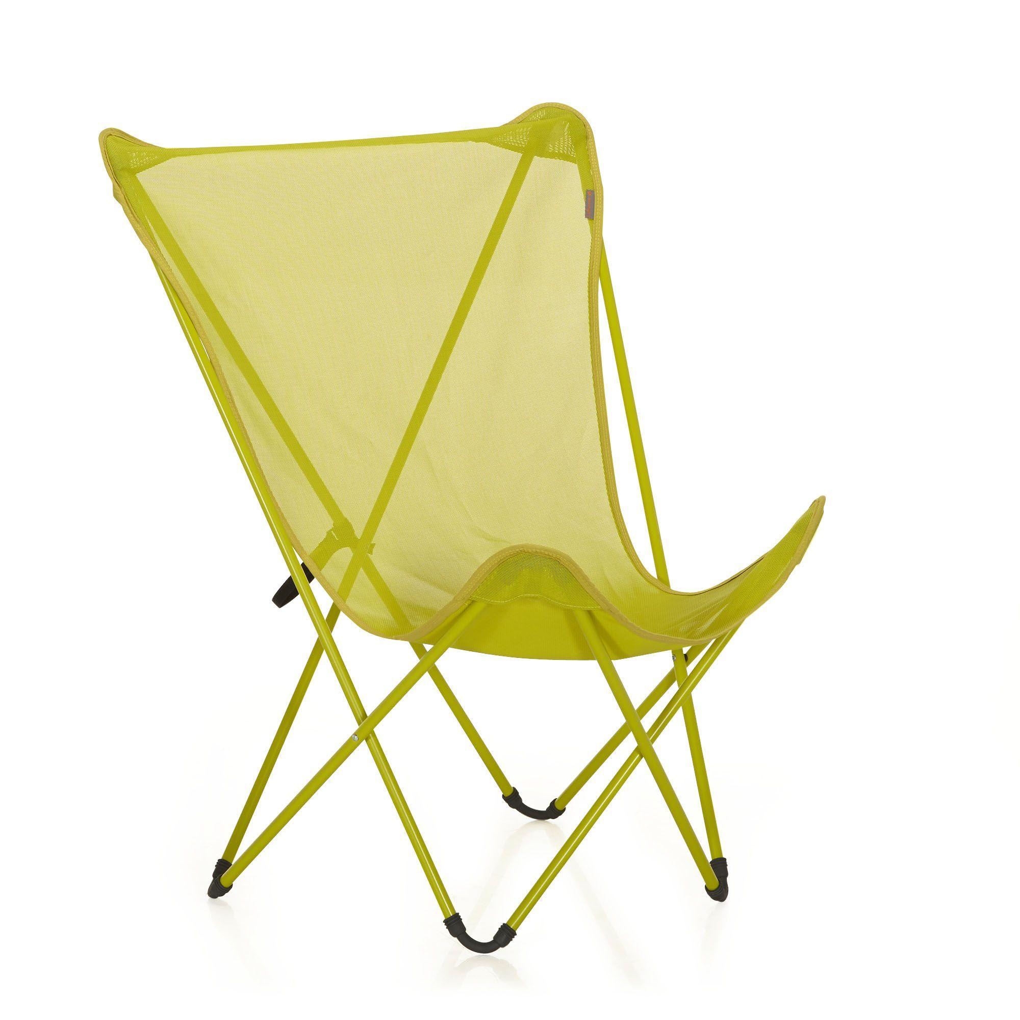fauteuil de repos pliant lafuma vert anis maxi pop up. Black Bedroom Furniture Sets. Home Design Ideas
