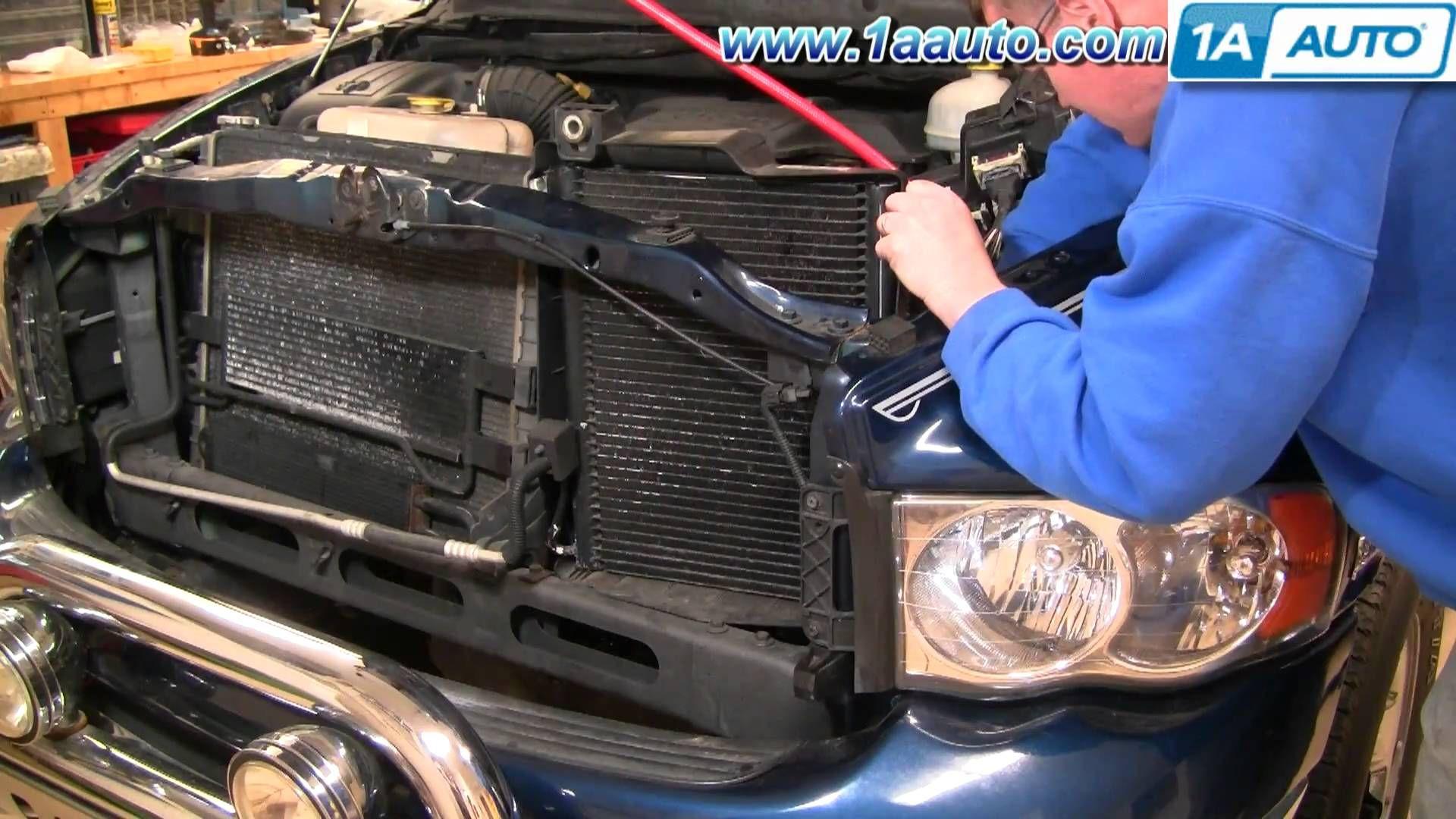 How To Install Repair Replace Part 1 Ac Condensor Cooling Fan Dodge Ram Repair Manuals Dodge Ram Repair