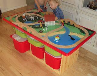Roadside Raider: Trofast Train Table