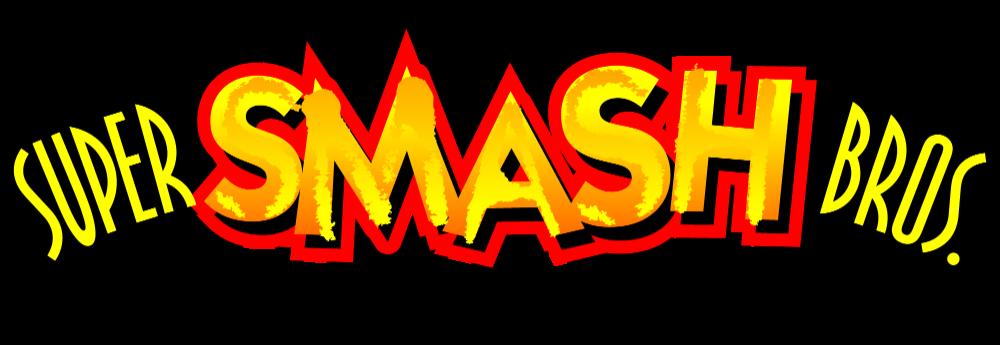 Super Smash Bros 64 Logo Accurate Restoration By Maxigamer On Deviantart Super Smash Bros Logo Super Smash Bros Comic Books