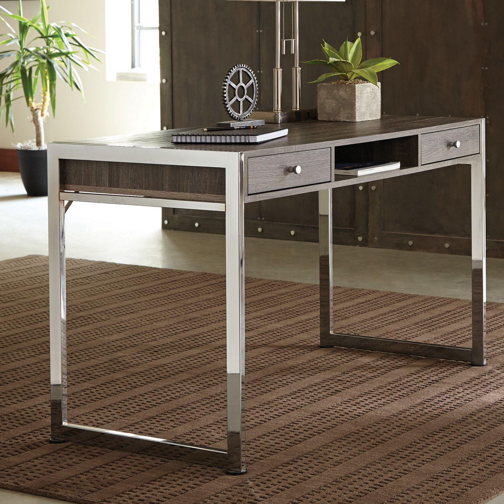 Beau Mercury Row Pan Writing Desk U0026 Reviews | Wayfair