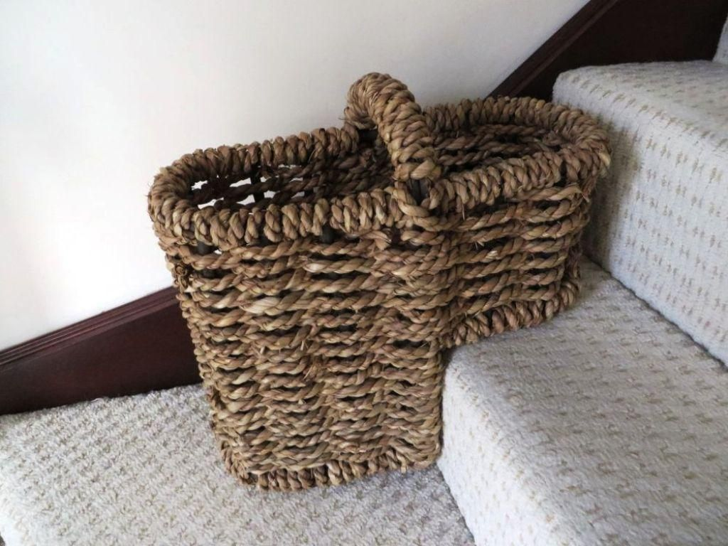 Some Stair Basket Organizer Ideas   Http://storage.cwsshreveport.com/