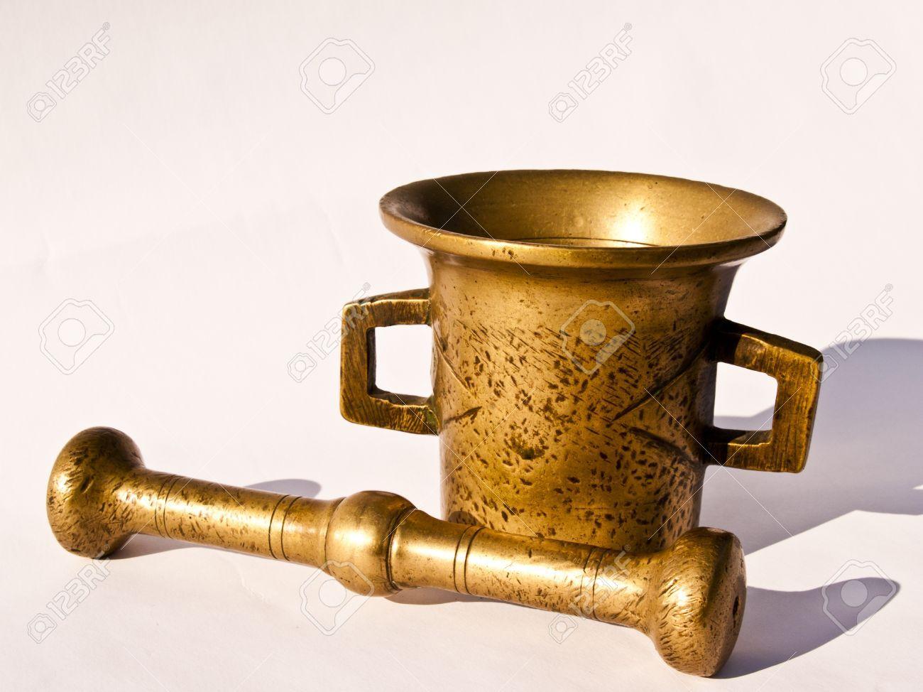 Utensilios de cocina antiguos mortero y almirez de bronce for Utensilios de cocina antiguos con nombres