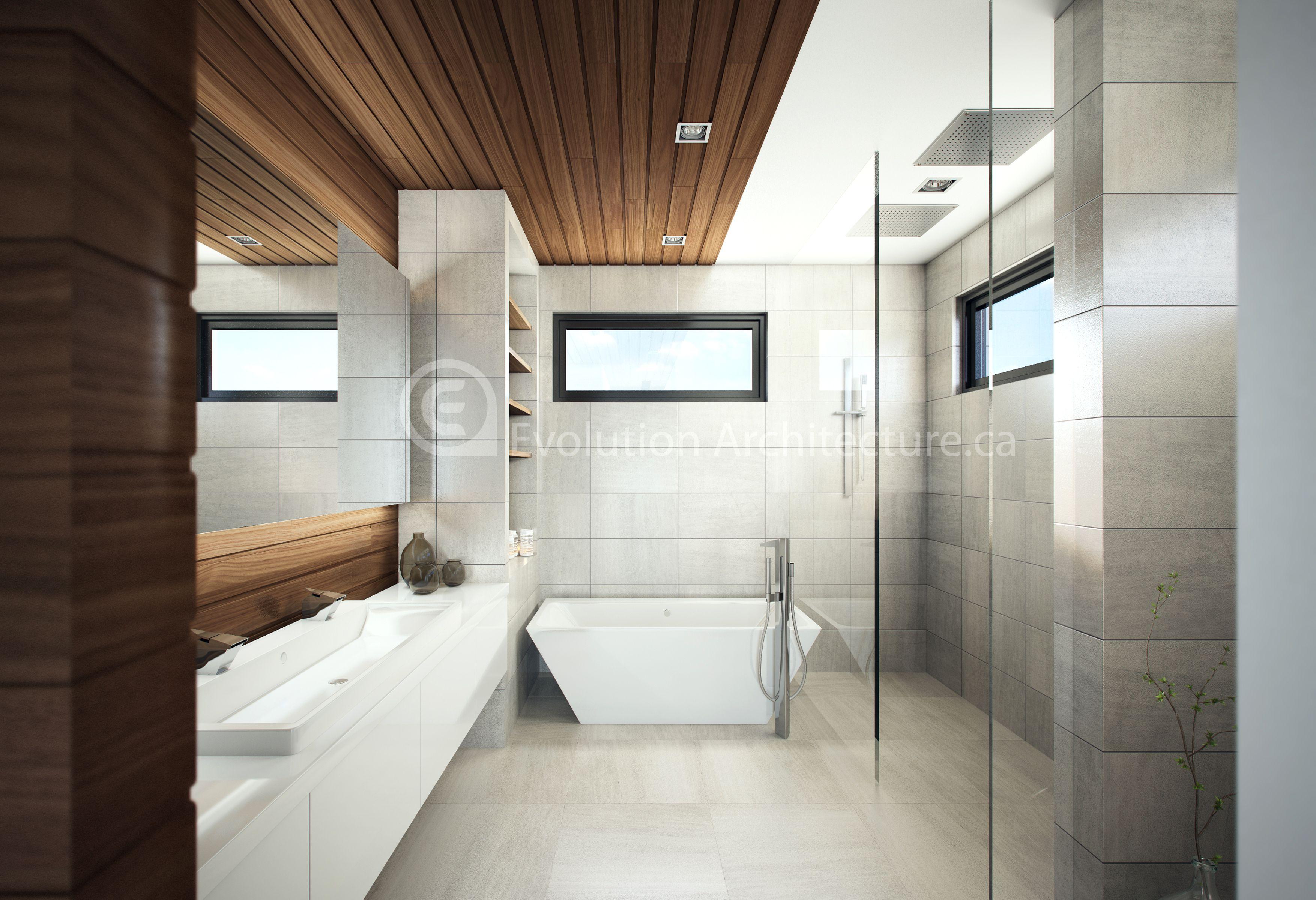 Evolution Architecture,salle de bain contemporaine,design intérieur ...