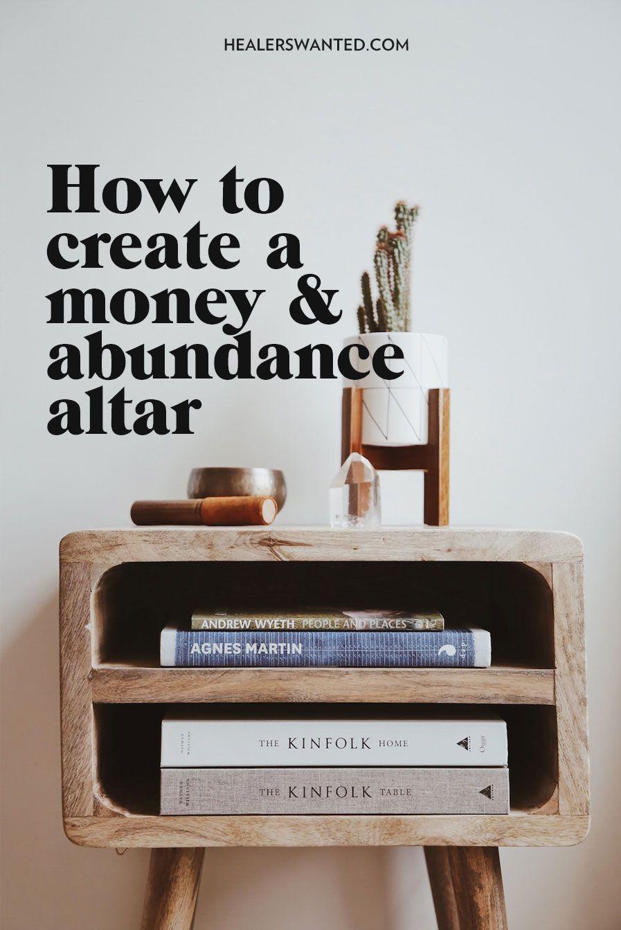 How to create a money altar spiritual tools for